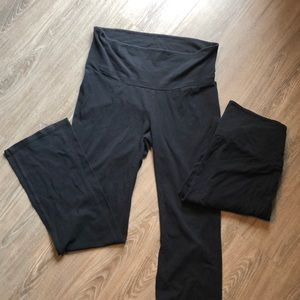 Two pair of Maternity Yoga Pants.
